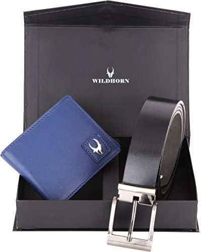 wildhorn leather wallet combo gift WildHorn Leather Wallet Combo Gift 41j7fgv9LFL