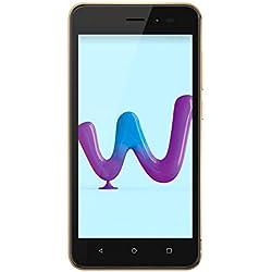 Wiko Sunny3 Smartphone Portable débloqué 3G+ (Ecran: 5 Pouces - 8 Go - Double Micro-SIM Android) Or