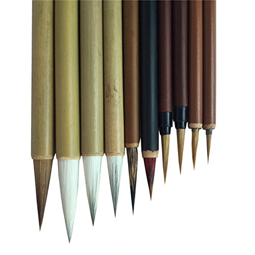 la pittura della calligrafia alla spazzola professionale,pacchetto da 10 pz