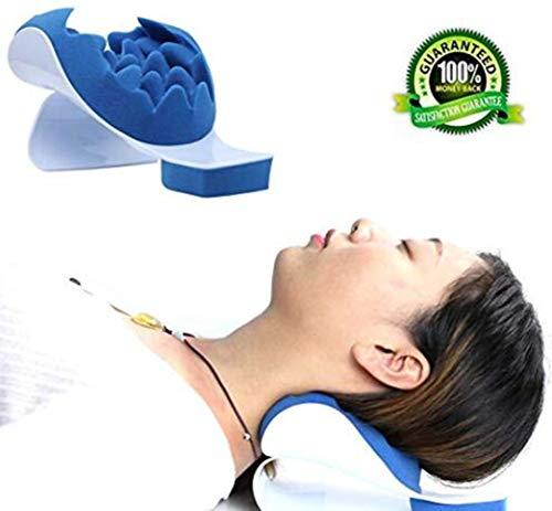 ulterentspannung Nackenschmerzen Entlastung Und Unterstützung Schulterentspannung Massage Traktion Kissen Okzipital-Therapie Kissen Schmerzlinderung ()