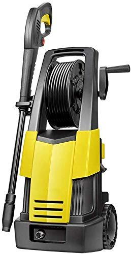 Auto und im Haus Hochdruckreiniger, 1900W 130Bar 370L / H Druckreiniger elektrische bewegliche Leichtkraftreiniger Terrassenreiniger mit Zubehör dljyy