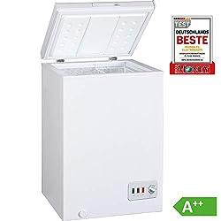 Bomann GT 357 Gefriertruhe/A++/ 85 cm Höhe/ 131 kWh/Jahr/ 100 L Gefrierteil/regelbarer Thermostat