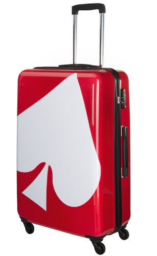 Trolley Polycarbonat Ace of Spades 70 Liter Koffer Mittel SuitSuit