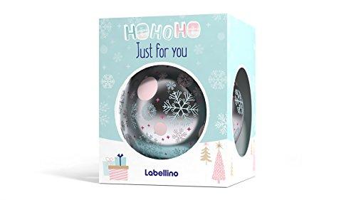 NIVEA Labellino Geschenkset mit 2 Lippenkugeln, Raspberry & Red Apple und Fresh Mint, 2 Stück