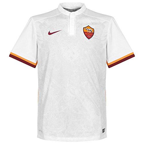 Nike seconda maglia roma 2015/2016–maglietta ufficiale, uomo, roma ss away stadium jsy, m