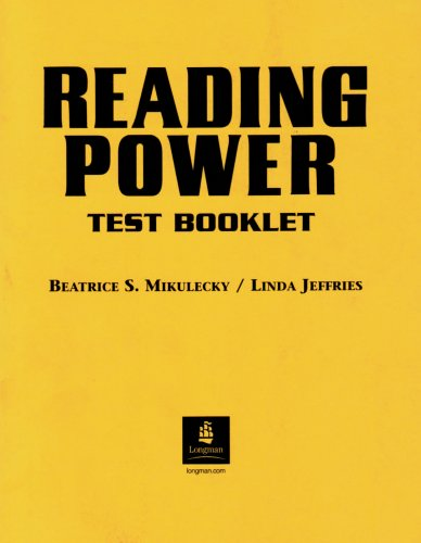 Reading Power: Test Booklet
