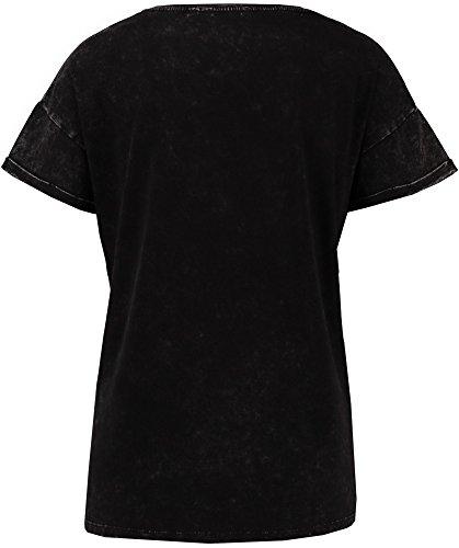 Garcia Damen T-Shirt (black) 60