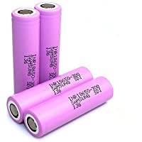 Samsung 30Q 15A 3000mAh 18650 Battery Includes VIPERTECH Branded Case (4 Batteries)