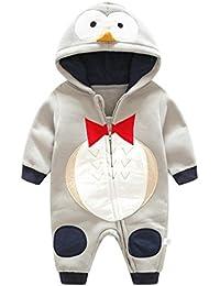 animales ropa traje fotografia proposicion Sannysis bebé niñas y niños lindo animal impresión encapuchado abrigos ropa de bebe recien nacido chaquetas con capucha de manga larga