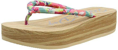 Rocket Dog Kaleo, Tongs femme Rose - Pink (PINK MULTI LCG)