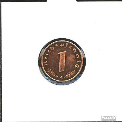 Deutsches Reich Jägernr: 361 1937 D sehr schön Bronze 1937 1 Reichspfennig Reichsadler (Münzen für Sammler) -