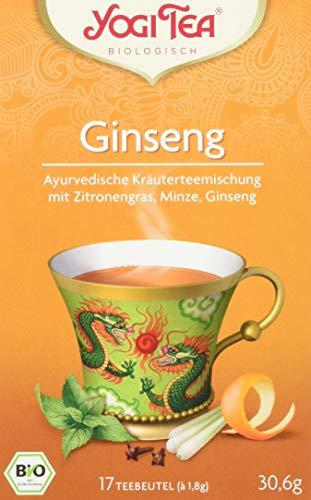 YogiTee Ginseng Flower 17 Beutel, 3er Pack (3 x 30 g)