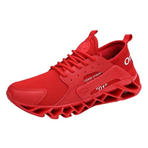 Masoness Schuhe Herren große Fitness Laufschuhe atmungsaktiv rutschfeste Mode Turnschuhe,Große Fitness-Laufschuhe, atmungsaktive, rutschfeste Modeturnschuhe - Herren-baumwoll-socken Toe Gold