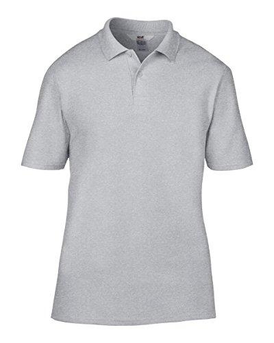 Anvil Herren T-Shirt Grau Meliert