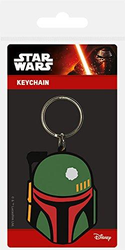 Star Wars - Porte-clés caoutchouc Boba Fett 6 cm