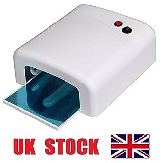36W UV Lamp Nail Art Gel Curing Tube Light Dryer White with Timer Function 48h courier MarkUK®