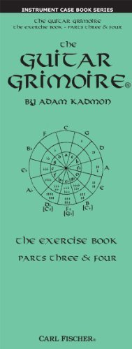 The Guitar Grimoire - The Exercise Book - Parts Three & Four by Adam Kadmon (2012-05-15)