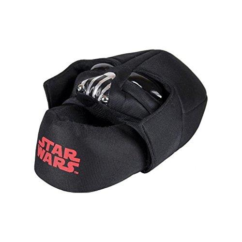 Disney Star Wars Chaussons Peluche 3D - Garçon - Noir 26