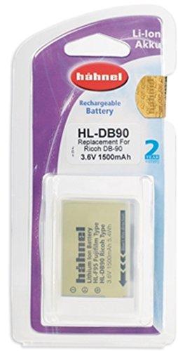 Hähnel HL DB90 Li-Ion Akku für Ricoh Digitalkameras - Ersatzakku für Ricoh DB-90 schwarz
