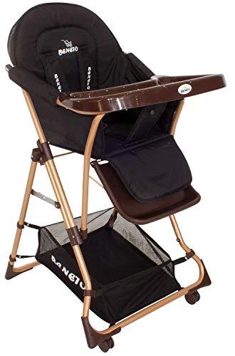 l Hoch Baby Stuhl Kinder Baby Ess Tisch Esstisch NEU schwarz ()