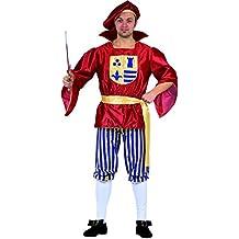 Ciao 16426 - Romeo, Taglia XL, Rosso/Oro/Blu