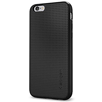 iPhone 6s Case, Spigen® iphone 6 case cover [Liquid Armor] [Black] Premium Flexible and Durable TPU / SOFT-FLEX Extra Grip Case iPhone 6/6s Cover for iPhone 6 (2014) / 6s (2015) - Black (SGP11751)