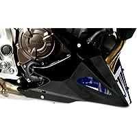 Powerbronze Quilla para Yamaha MT-0714–15/XSR70016, color carbono y plateado