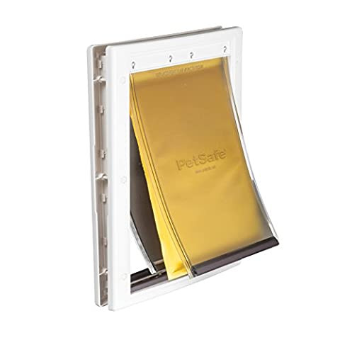 PetSafe Extreme Weather Energy Efficient Pet Door, Medium,