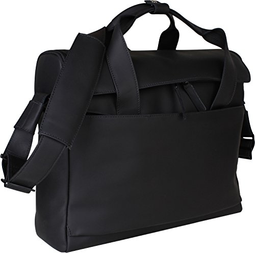 """Harold´s HAROLD'S 2in1 Notebookbag 17"""", Borsa a tracolla donna marrone scuro L marrone scuro"""