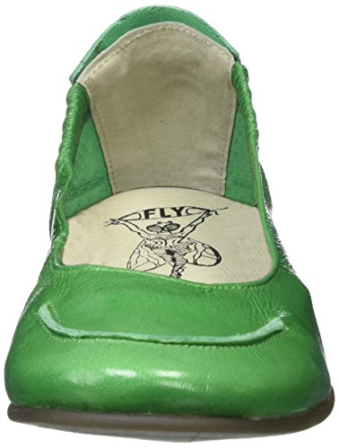 FLY London Damen Fahd974fly Peep-Toe Grün (green 003)