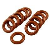Dichtungsringe/O-Ringe aus Silikon, 10 x 17 x 3,5mm, 10Stück