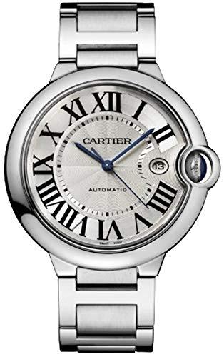 Cartier Homme 42mm Bracelet en Acier et Coque S. Saphir Montre Automatique W69012z4