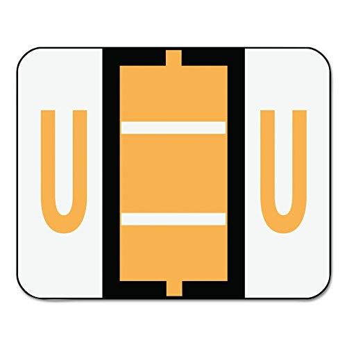 Smead BCCR Bar Style Color Coded Labels U - Light Orange 500pieza(s) - Etiqueta autoadhesiva (31,8 mm, 25,4 mm, 500 pieza(s), 1 hojas)
