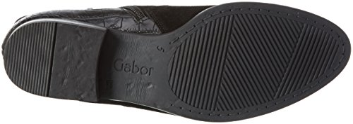 Gabor Fashion, Bottes Chelsea Femme Noir (Schwarz Micro)