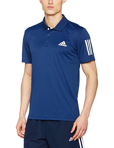 adidas Club Polo de Tenis, Hombre, Azul (Mysblu / White), XL