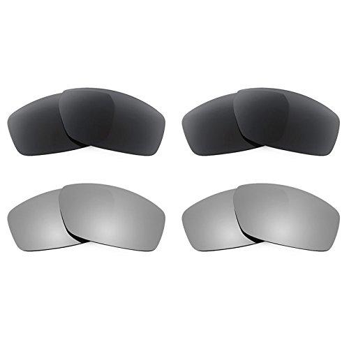 Revant Ersatzlinsen für Spy Optic Dirty Mo Polarisiert 4 Paar Kombipack K021