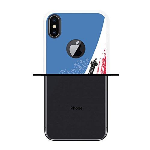 iPhone X Hülle, WoowCase Handyhülle Silikon für [ iPhone X ] Ninja Logo Handytasche Handy Cover Case Schutzhülle Flexible TPU - Transparent Housse Gel iPhone X Transparent D0416