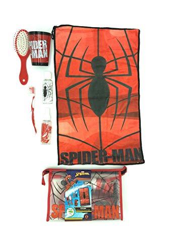 Kit Neceser viaje Spider-Man viaje colegio/Neceser