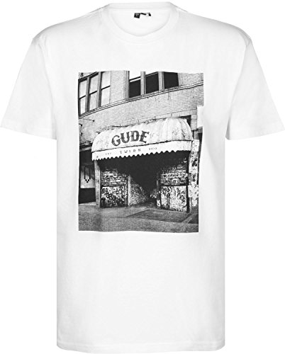GUDE Herren T-Shirt CB GUDE Weiß