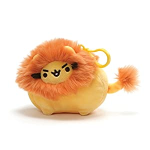 Enesco Gund Pusheen 4061301 - El león Pusheen, clip para Mochila