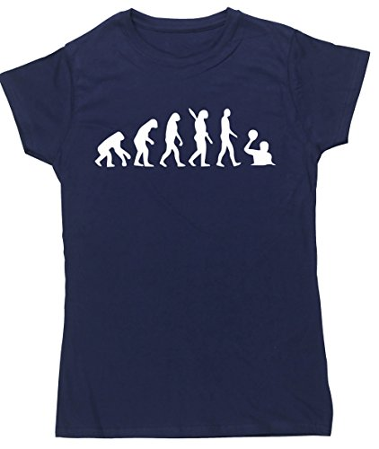 HippoWarehouse Damen T-Shirt X-Large Marineblau