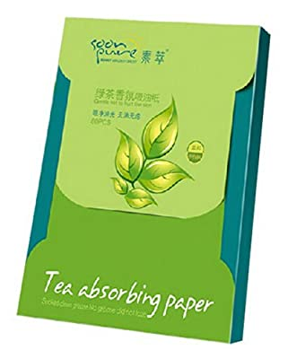 3 Of Tea Absorption Paper Natural Facial Oil Blotting Paper (3x80 sheets)