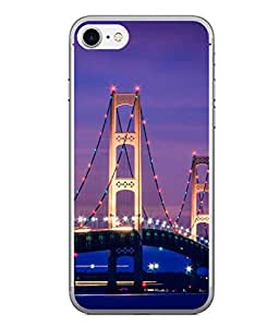 PrintVisa Designer Back Case Cover for Apple iPhone 6 (multi coloured decoration on bridge)