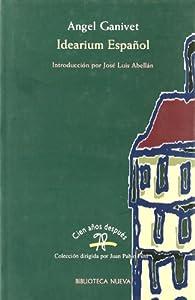 Idearium español par Ángel Ganivet