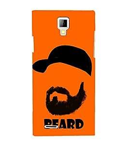 Fiobs Designer Phone Back Case Cover Micromax Canvas HD A116 :: Micromax A116 Canvas HD ( Beard Look No Shave November )