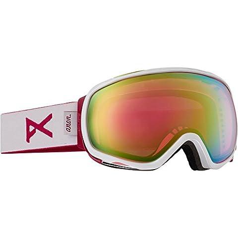 Anon Tempest Women's Ski & Snowboard Goggles white/pink sq