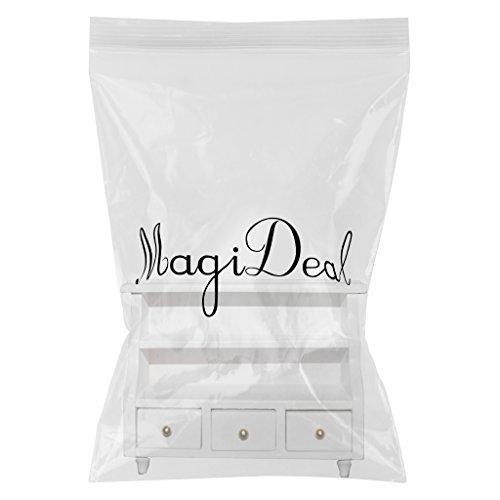1/12 Miniature Dollhouse Mobili Da Bagno Armadio Toilette - Bianco