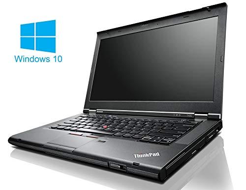 Lenovo ThinkPad T430 Notebook / Laptop | 14 Zoll Display | Intel Core i5-3320M @ 2,6 GHz | 8GB DDR3 RAM | 128GB SSD | DVD-Brenner | Windows 10 Home vorinstalliert (Zertifiziert und Generalüberholt)