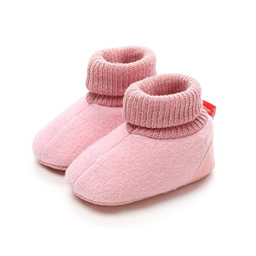Unisex Anti Slip First Walker Shoes Boots Baby Boys Girls Warm Soft Sole Winter Toddler Snow Boots Toddler Shoes Gift
