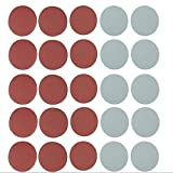 Set di 25 Dischi Velcro Abrasivi in Grana 800/1000/1500/2000/ 3000, diametro 125 mm